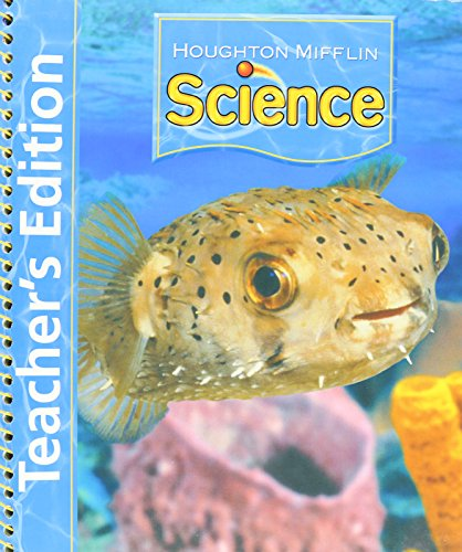 9780618492305: Houghton Mifflin Science: Kindergarten Kit Teacher's Edition 2007