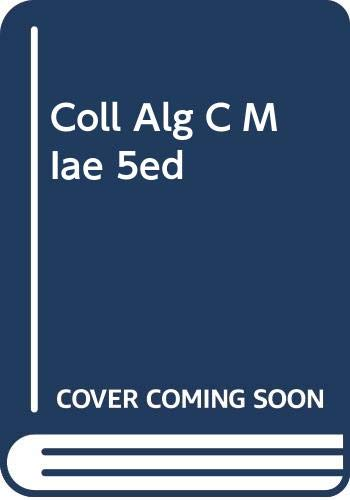 9780618492824: College Algebra: Concepts and Models. Instructor's Annotated Edition