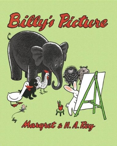 9780618494224: Billy's Picture (Curious George)