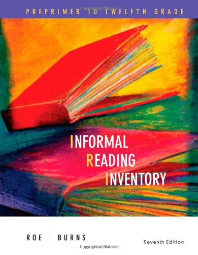 9780618495986: Informal Reading Inventory: Preprimer to Twelfth Grade