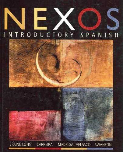 9780618496099: Nexos: Introductory Spanish: Text with In-Text Audio CD (Spanish Edition)
