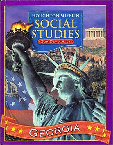 9780618497874: Houghton Mifflin Social Studies Georgia: Student Edition Level 3 2006