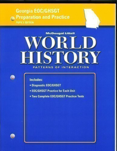 9780618499304: World History: Patterns of Interaction Georgia: End of Course GHSGT Prep and Practice SE Grades 9-12