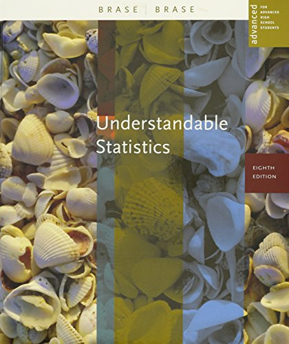 9780618501533: Understandable Statistics: Advanced Placement, 8th Edition