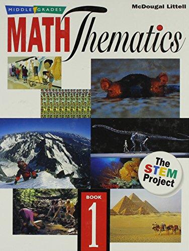 9780618501656: McDougal Littell Mathematics: Students Edition, Book 1