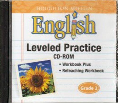 9780618502301: Houghton Mifflin English: Leveled Practice CD-ROM Grade 2