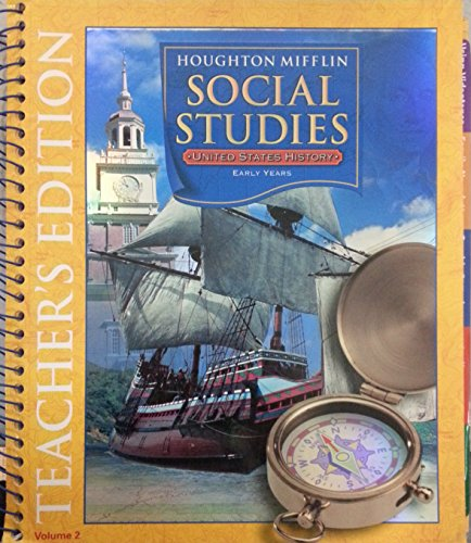 Houghton Mifflin Social Studies: Teacher's Edition Level: HOUGHTON MIFFLIN