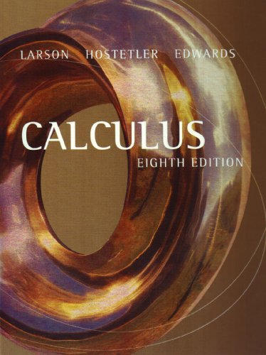 Calculus larson hostetler Edwards 7th Edition Solutions manual