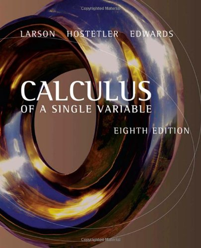 9780618503032: Calculus of a Single Variable