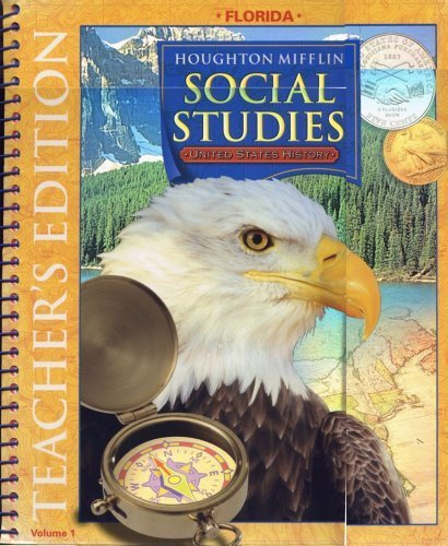 Houghton Mifflin Social Studies Florida: Teacher's Edition: MIFFLIN, HOUGHTON