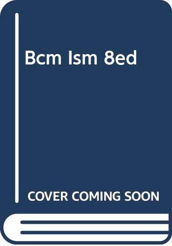 Bcm Ism 8ed: Aufmann, Baker, Lockwood