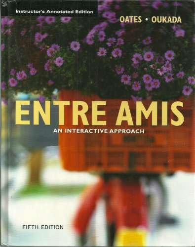 9780618506927: Entre Amis: An Interactive Approach