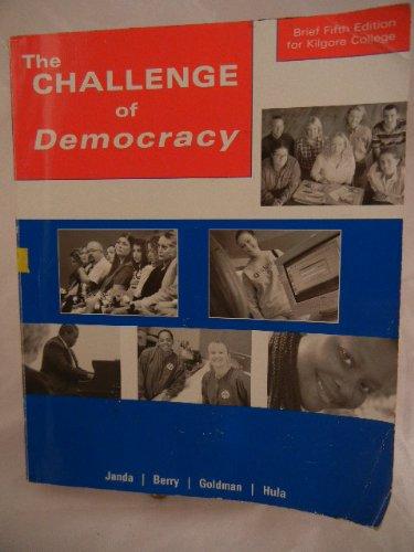 9780618507023: Challenge of Democracy, Brief