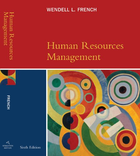 9780618507214: Human Resources Management