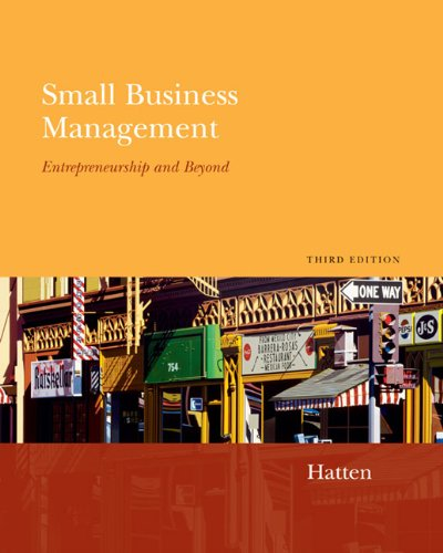 9780618507252: Small Business Management: Entrepreneurship And Beyond