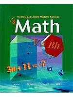 9780618508181: McDougal Littell Middle School Math: Teacher Edition Course 3 2005