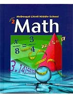 9780618508198: Mcdougal Littell Middle School Math, Course 2, Teacher's Edition