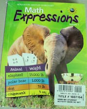 Math Expressions: Student Activity Book (2 volumes) Grade 3: MIFFLIN, HOUGHTON