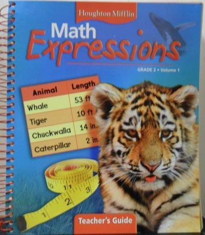 9780618510054: Houghton Mifflin Math Expressions Grade 2, Volume 1 Teacher's Guide