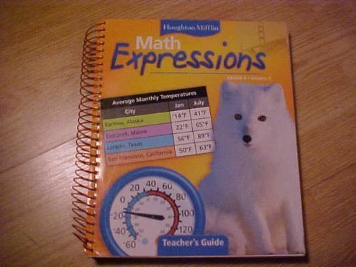 9780618510139: Math Expressions, Level 4: Teacher Edition: 1