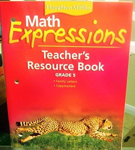 9780618510641: Math Expressions: Teacher Resources Bk Level 5 2006