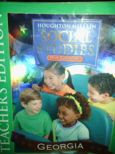 9780618510856: Houghton Mifflin Social Studies Georgia: Teacher Edition Level 1 2006