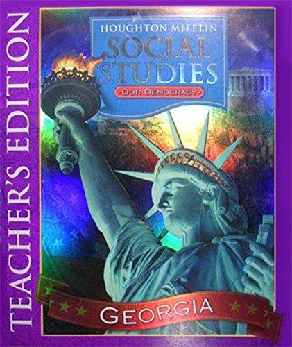 9780618510870: Houghton Mifflin Social Studies Georgia: Teacher Edition Level 3 2006
