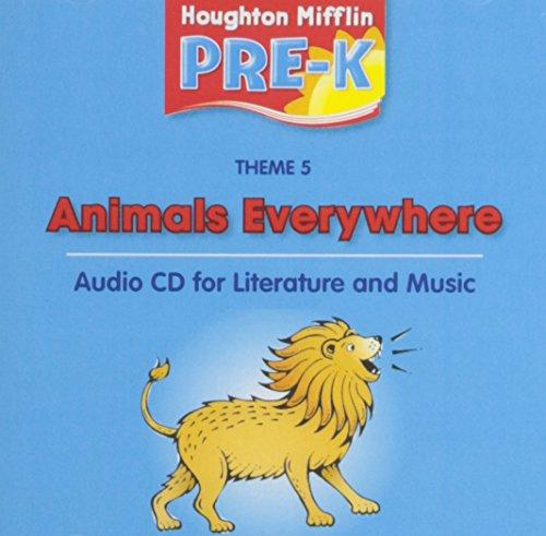 9780618512713: Houghton Mifflin Pre-K: Audio CD Theme 5 Grade Pre K
