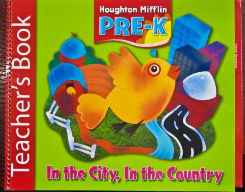 9780618512836: Houghton Mifflin Pre-K: Teacher Book Theme 7 Grade Pre K 2006