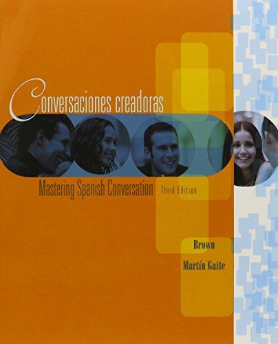 9780618512898: Conversaciones Creadoras