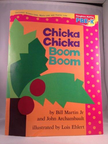 9780618513833: Chicka Chicka Boom Boom (Houghton Mifflin Pre-K)