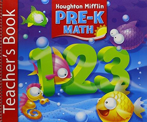 9780618514083: Houghton Mifflin Pre-K: Math Teacher's Book Grade Pre K 2006
