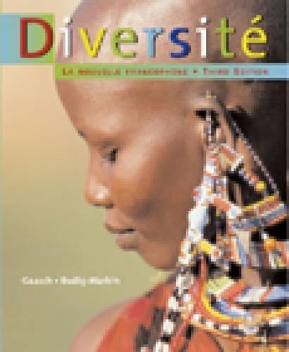 9780618514755: Diversite: La Nouvelle Francophone: Student Text