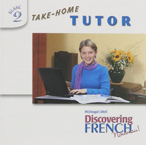 9780618515882: Discovering French, Nouveau!: Take-Home Tutor CD-ROM Level 2