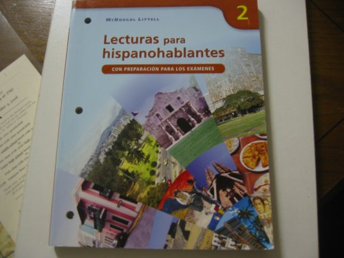 Lecturas Para Hispanohablantes 2: Con Preparacion Para