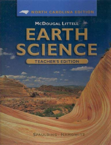 McDougal Littell Earth Science North Carolina: Teacher's Edition Grades 9-12 2005: LITTEL, ...