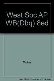 9780618522750: WEST SOC AP WB(DBQ) 8ED