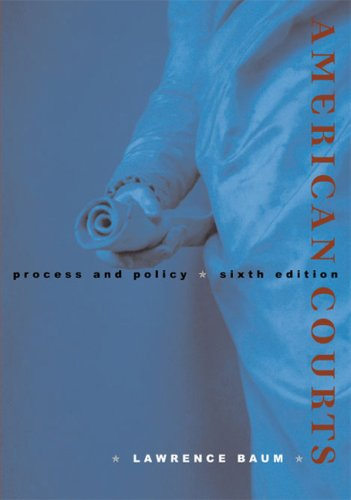 9780618522842: American Courts: Process and Policy
