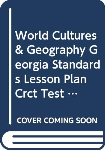9780618523528: McDougal Littell World Cultures & Geography Georgia: Standards Lesson Plan CRCT Test Prep and Practice Teacher Edition Grade 7
