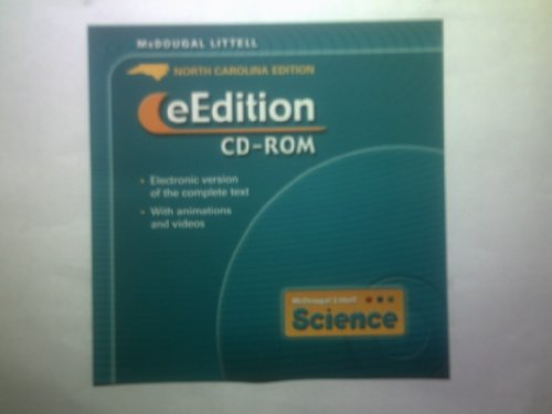 9780618526109: McDougal Littell Science North Carolina: eEdition CD-ROM Grades 6-8 2005
