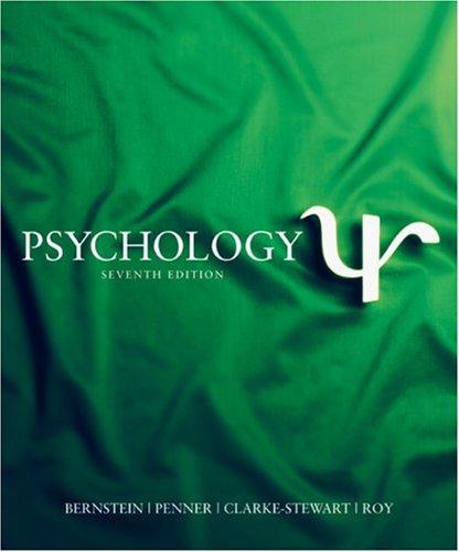 9780618527182: Psychology, Seventh Edition