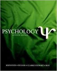 Psychology, Instructor's Annotated Edition, 7th: Bernstein