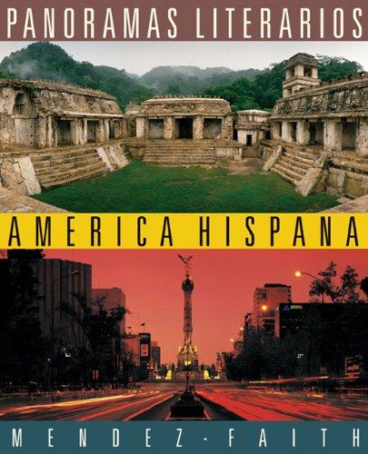 9780618527816: Panoramas literarios: America Hispana (World Languages)