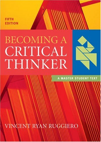 9780618527830: Becoming a Critical Thinker (Master Student)