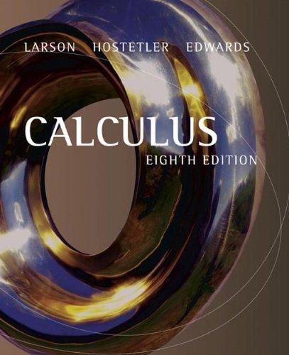 9780618527939: Calculus Cmp Sol V1 8ed