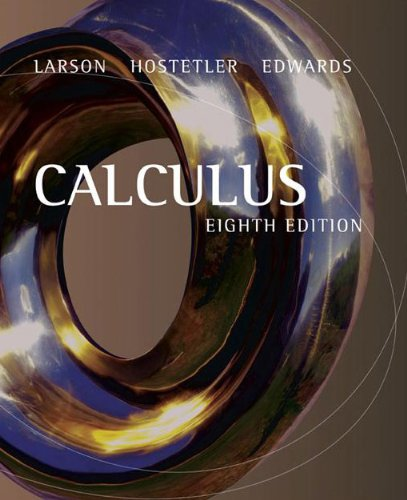 9780618527939: Calculus: Complete Solutions Guide, 8th Edition