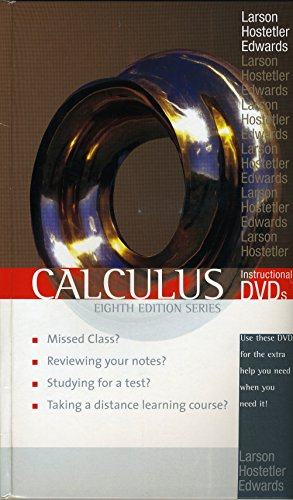 9780618528042: Calculus Instructional DVDs, 8th ed