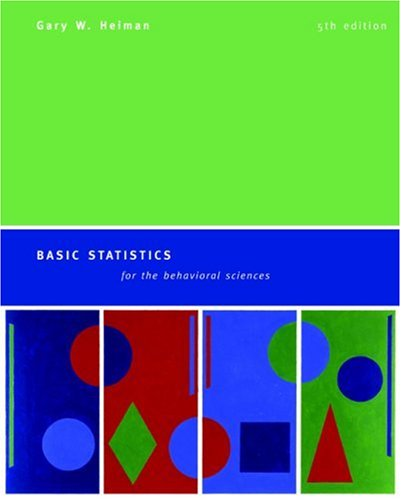 9780618528134: Basic Statistics For The Behavioral Sciences