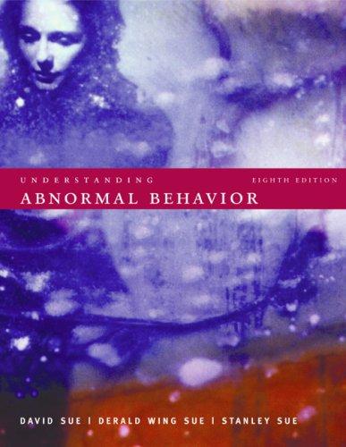 9780618528288: Understanding Abnormal Behavior