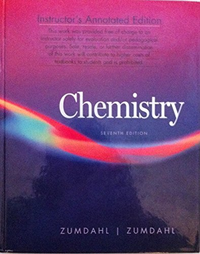 9780618528455: Chemistry, 7th Edition, Instructor's Annotated Edition